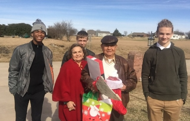 At Christmas, Seniors in Local Prosper Texas Community Experience the Love of Angels