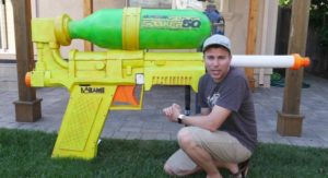 Mark Rober - Giant Super Soaker