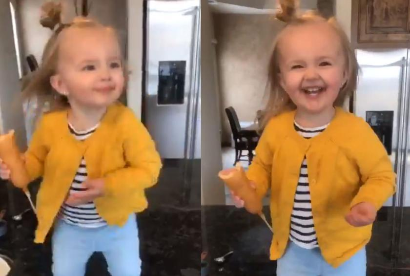 Latter-day Saint Toddler Brings Joy to Millions with Her Corn Dog Dance
