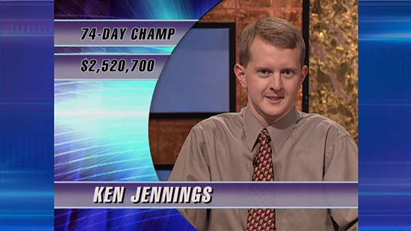 Ken Jennings - Jeopardy