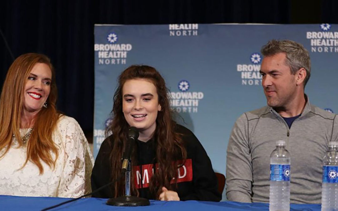 Survivor of Parkland School Shooting Turns Tragedy into Hope