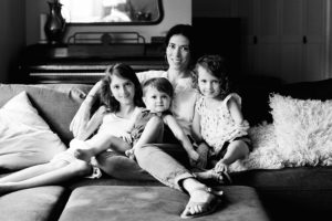 Amy Webb and Children