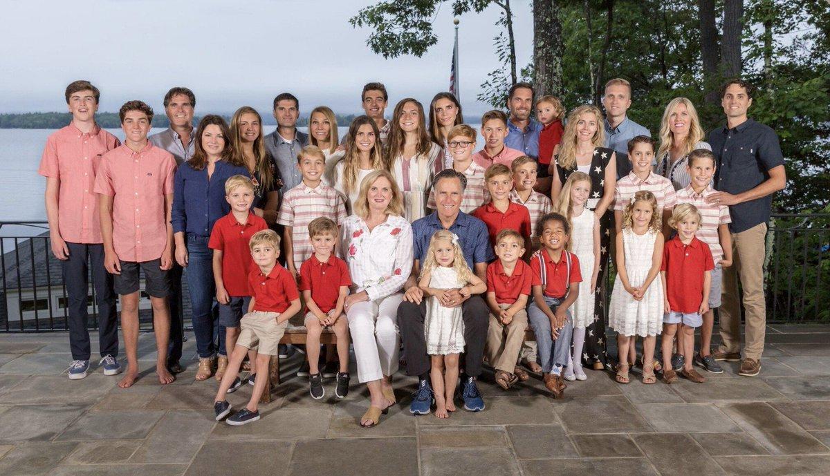 Ann Romney Family
