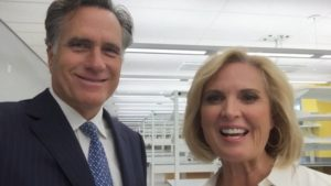 Ann ans Mitt Romney