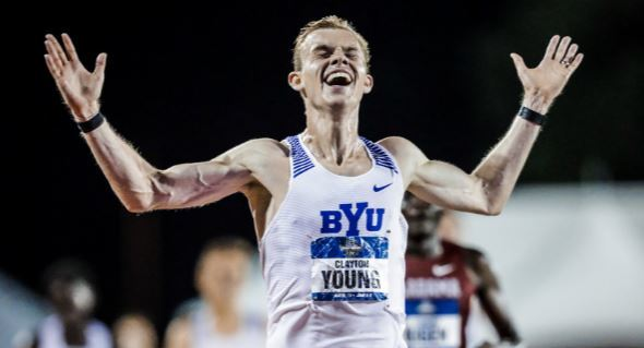 National Champion Distance Runner Credits Lessons Learned as a Missionary for His Success