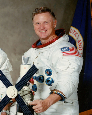 Astronaut Don Lind