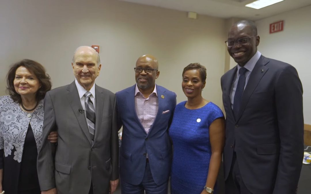 President Russell M. Nelson Delivered Message of Unity at NAACP Convention in Detroit Michigan