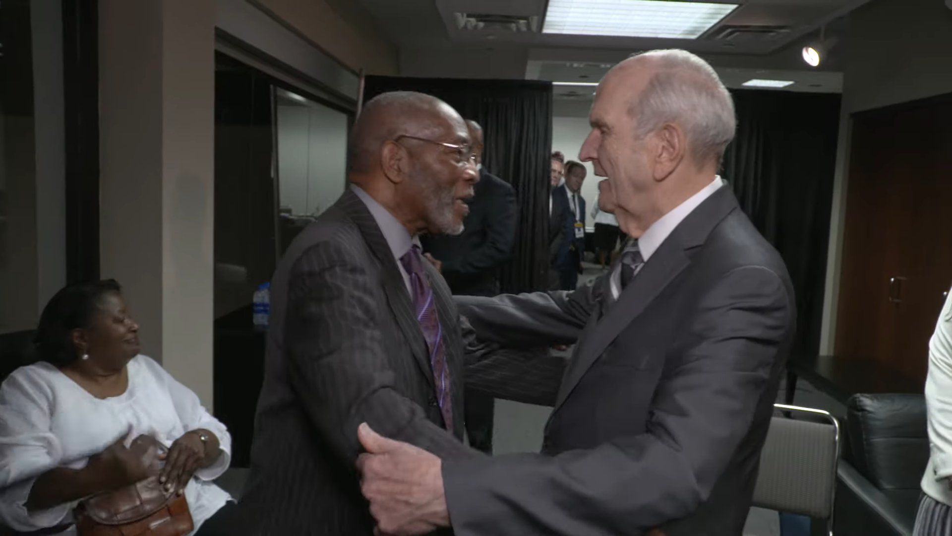 President Nelson and Dr. Amos C. Brown