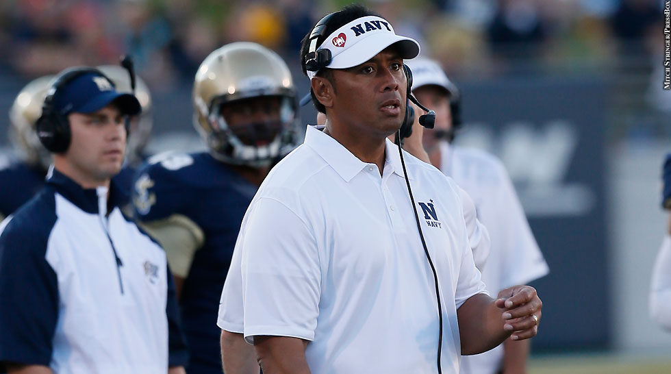 How a Challenging Football Season Drew the Navy Head Football Coach Closer to the Savior