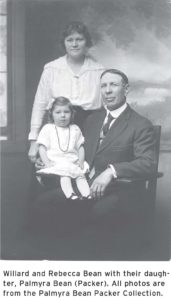 Willard and Rebecca Bean and daughter Palmyra