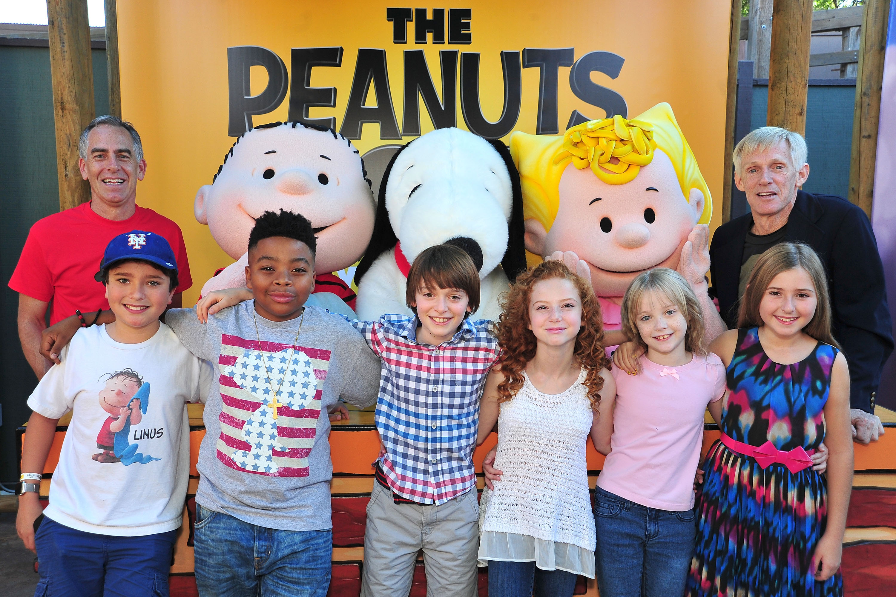 Cast and Crew of The Peanuts Movie