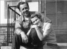 Charles Schultz and Joyce Halverson