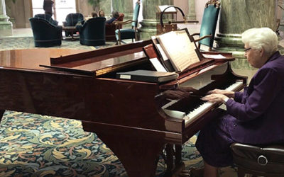 89-Year-Old Latter-day Saint Pianist Has Fond Memories of Playing at the Joseph Smith Memorial Building for 22 Years