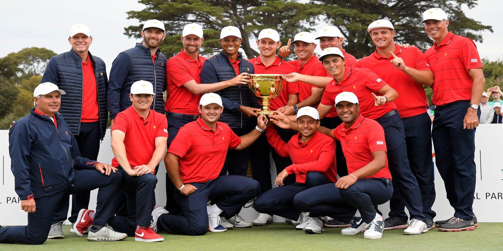 Tony Finau - President's Cup Win