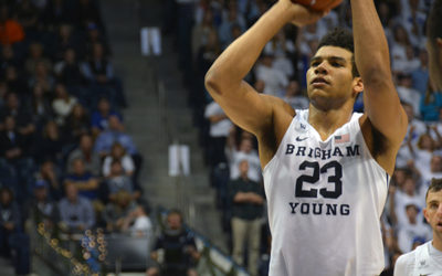 BYU's Star Power Forward and Convert to the Church Draws on Others Examples and is an Example Himself