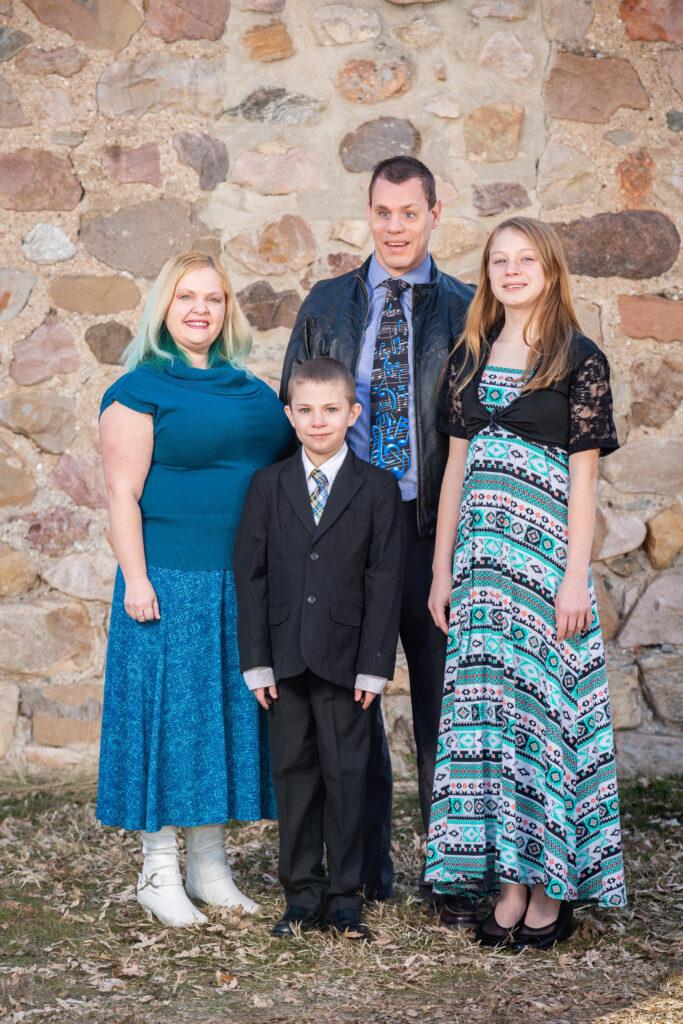 Kyle Woodruff Family