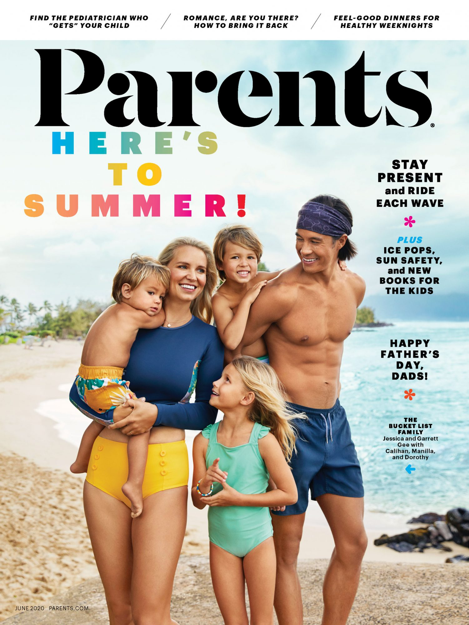 The Bucket List Family - Parents Magazine - June 2020