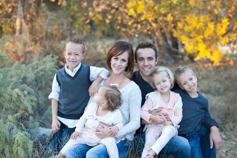 Hyrum Osmond and Family