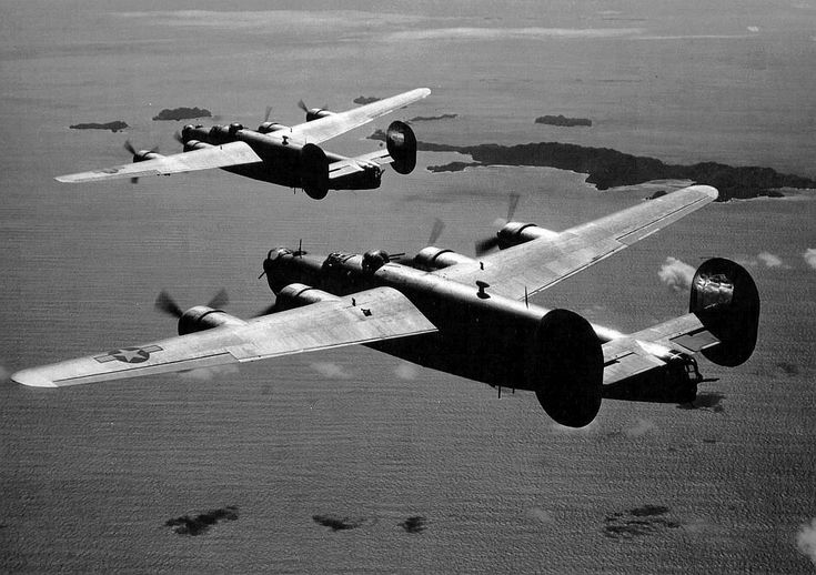 B24 in the Pacific