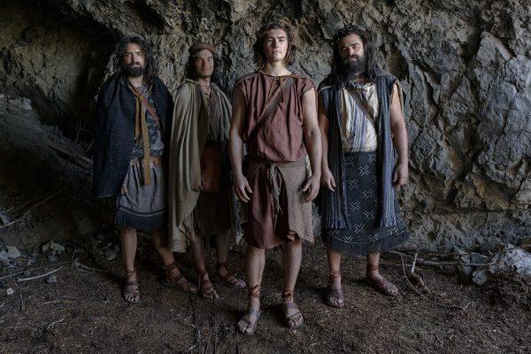 Laman, Lemuel, Nephi, and Sam