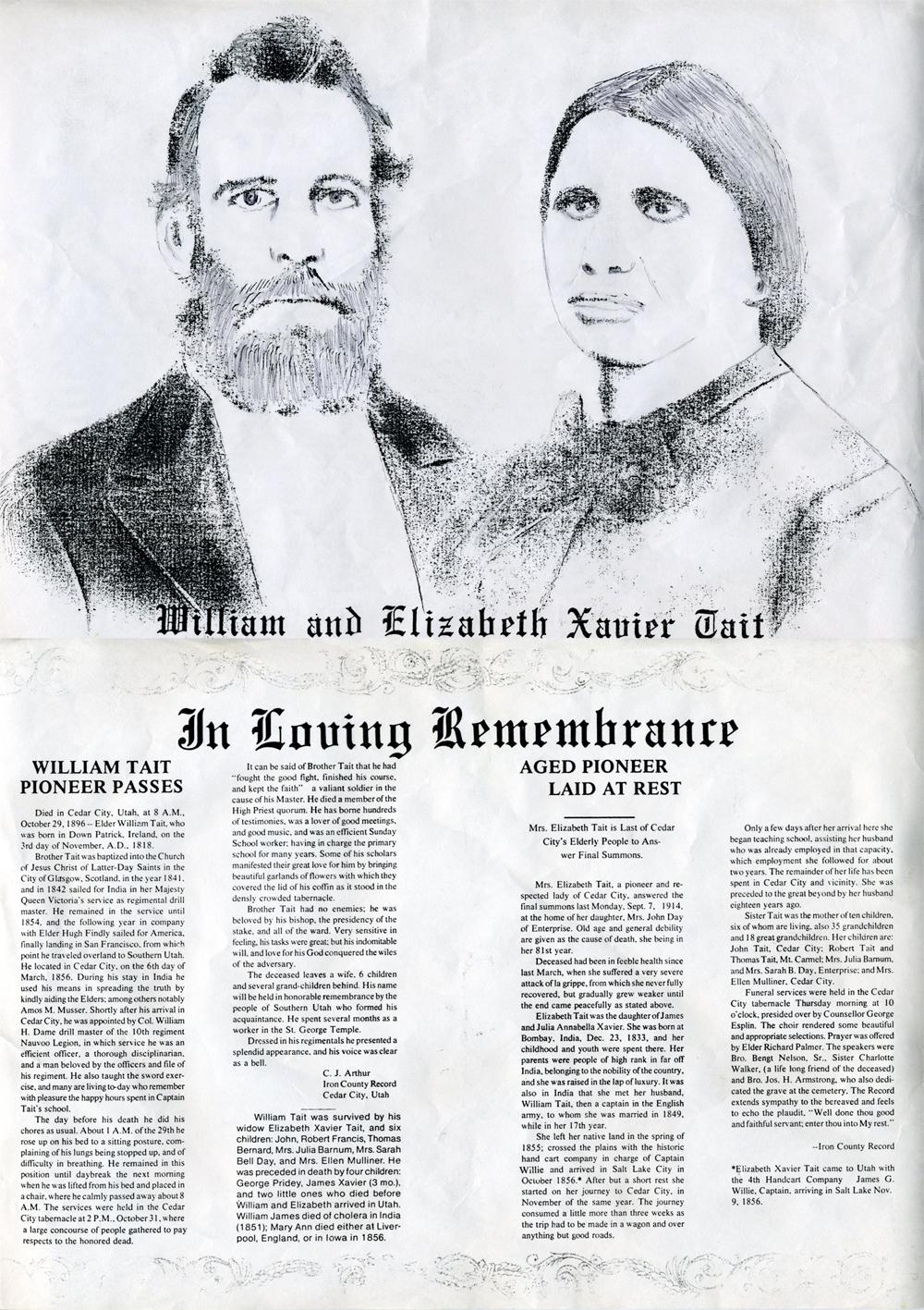 William and Elizabeth Tait