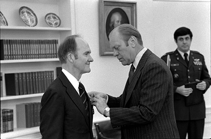 Brent Scowcroft and President Gerald Ford