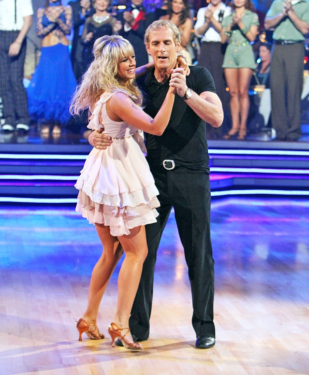Chelsie Hightower and Michael Bolton - Dancing with the Stars