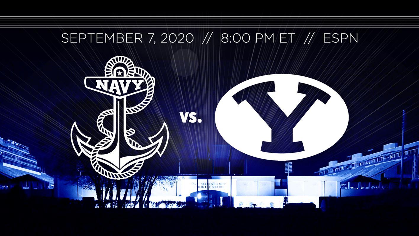 Navy vs BYU Football 2020