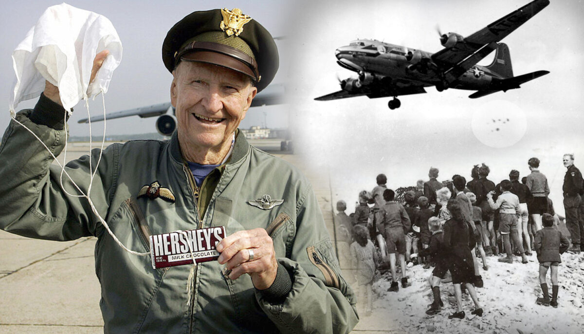 Gail S. Halvorsen, the Berlin Candy Bomber, Turns 100 Years Old