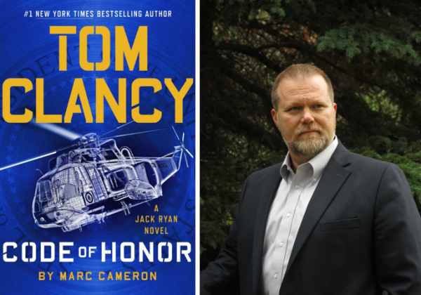 New York Times Bestselling Author, Marc Cameron, Keeps the Tom Clancy Jack Ryan Thriller Series Alive