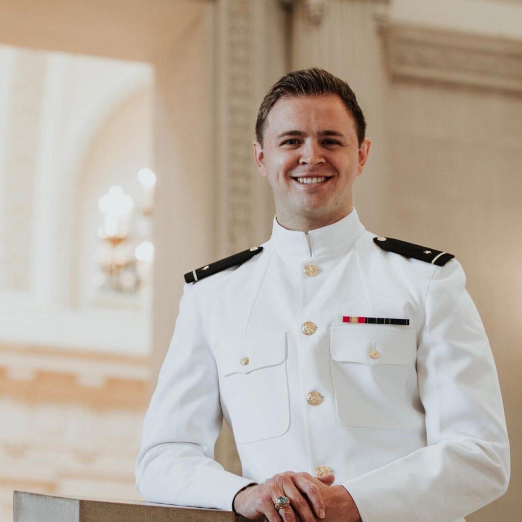 Three-Time Terrorist Attack Survivor Mason Wells Graduates from United States Naval Academy