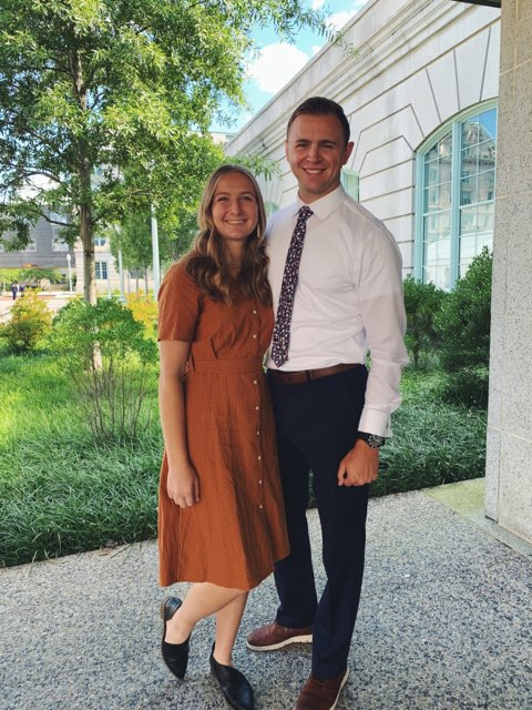 Mason Wells and Cassidy Hylton
