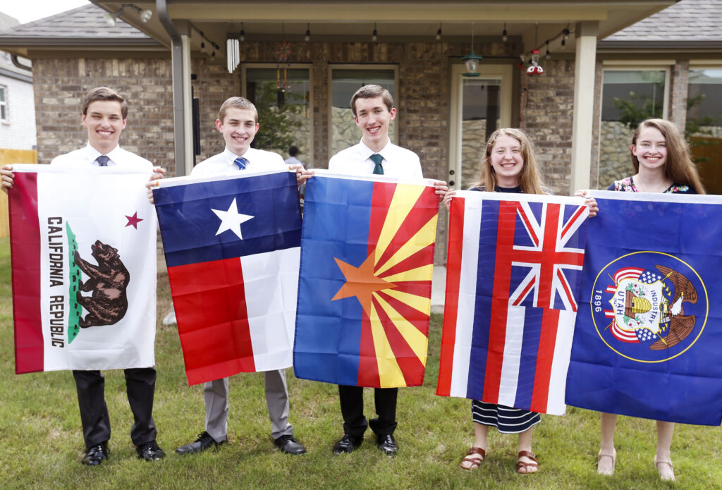 The Faylor Quintuplets Receive Their Mission Calls