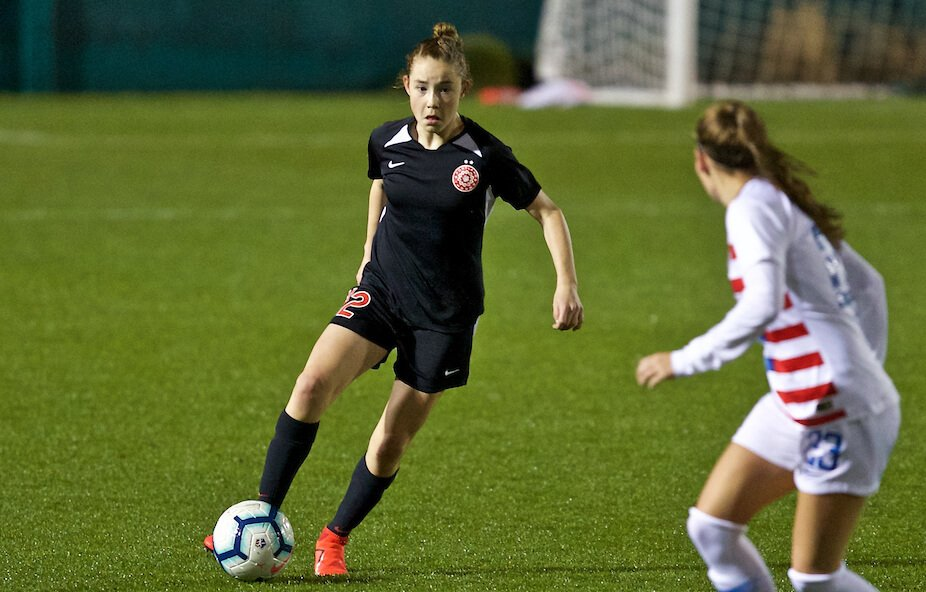 Olivia Moultrie - Portland Thorns