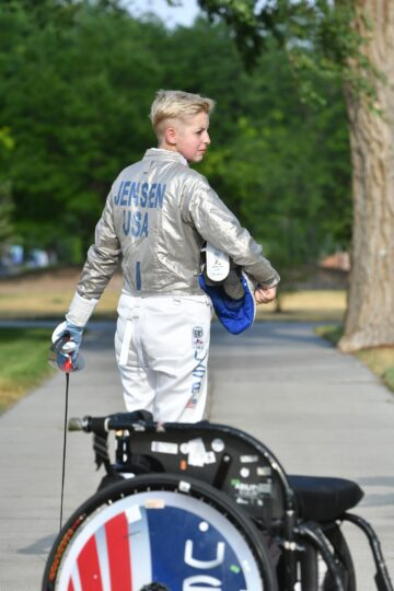 Shelby Jensen - Wheelchair Fencing
