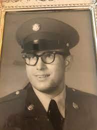Bob Inama in uniform